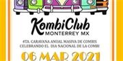 4a Caravana Anual Masiva de Combis Celebrando El Día Nacional De La Combi Monterrey