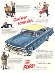 Shoebox Fords 1952, 1953, 1954