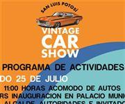San Luis Potosí Vintage Car Show: Programa de Actividades