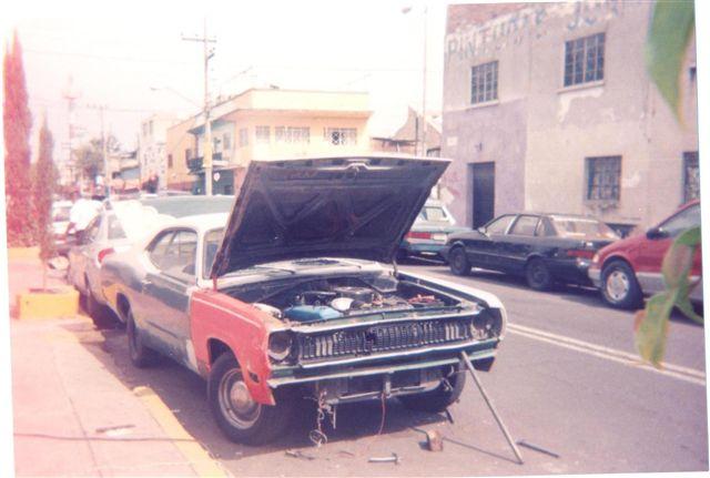 VALIANT DUSTER 1970PROCESO DE RESTAURACION