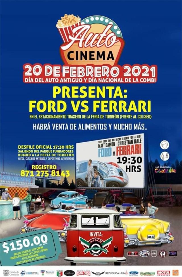 Día del Auto Antiguo y Día Nacional de la Combi, Torreón 2021
