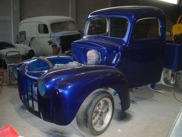carros en restauracion