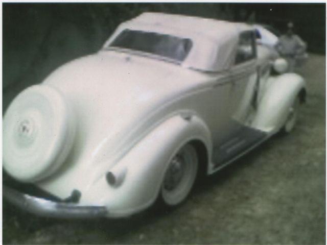 Chrysler descapotable 1936