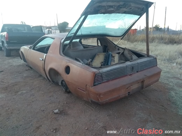 Pontiac Pontiac Firebird Trans Am 1982 Por Pieza Coupe 1982 30288 Detalle Auto Autoclasico Com Mx