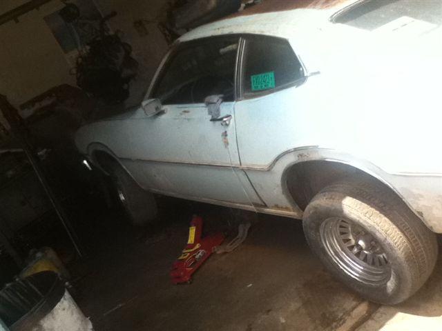 Ford maverick 74 de mi papá
