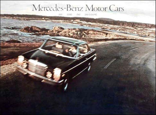 1972 Mercedes Benz 250-C (coupé)