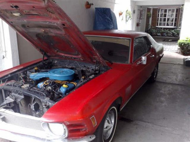 Proyecto MUSTANG 1970 GT