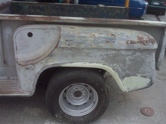 Chevy pickup 64 la ( blanca)