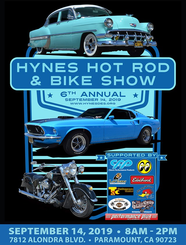 6th Annual Hynes DES Hot Rod & Bike Show