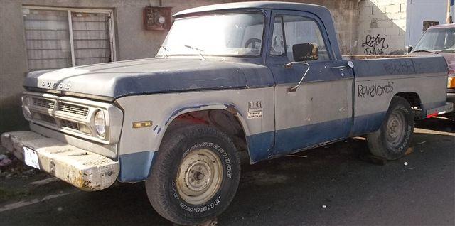 Les comparto mi proyecto, Dodge Sweptline 1971