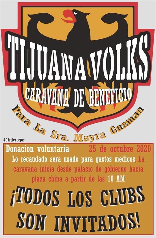Tijuana Volks Caravana de Beneficio 2020