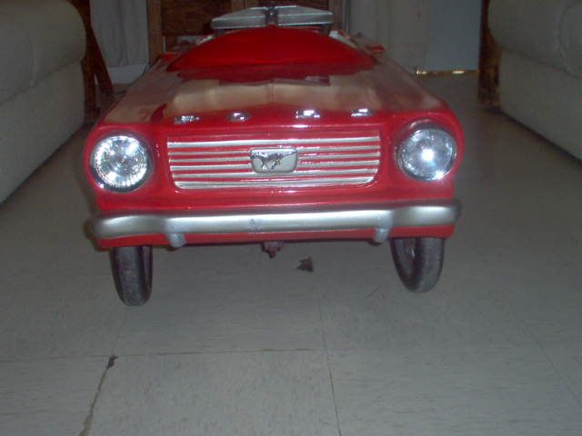 MUSTANG 1966 PEDALES