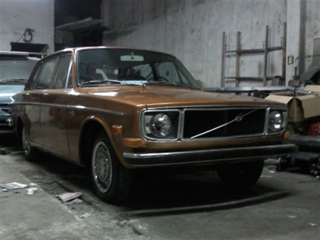volvo de luxe 144s 1968