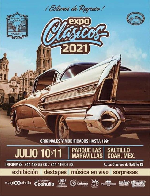Expo Clásicos Saltillo 2021