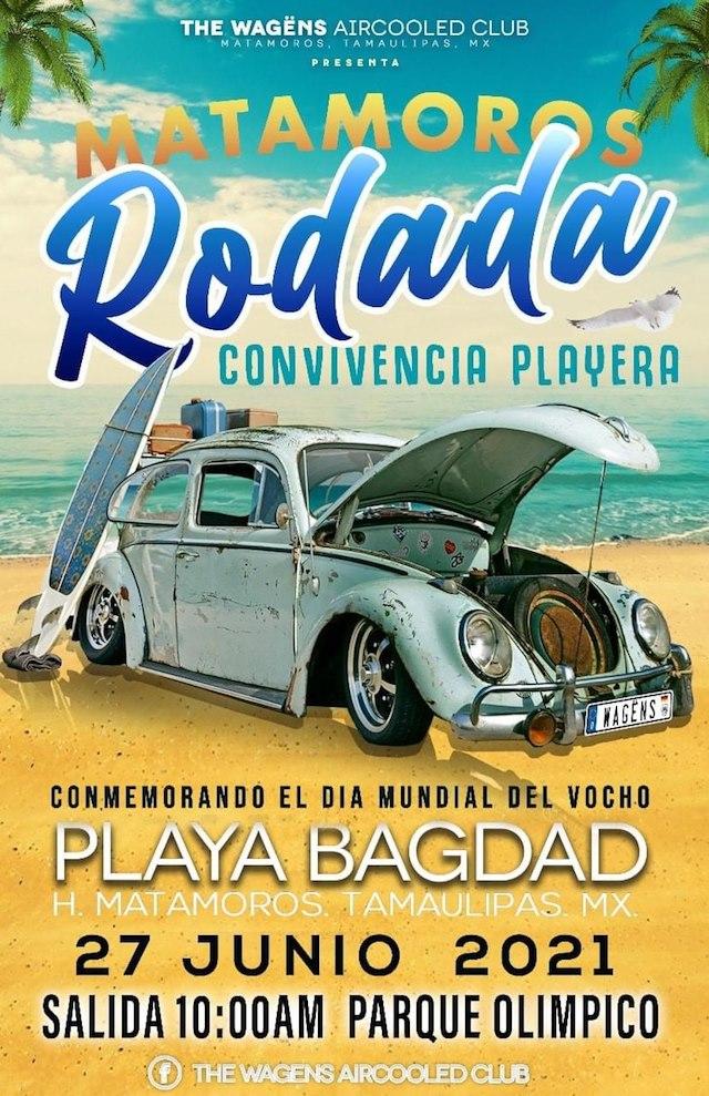 Matamoros Rodada Convivencia Playera 2021