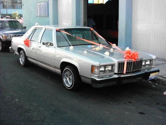 Mercury Grand Marquis 1985. EL LIMON