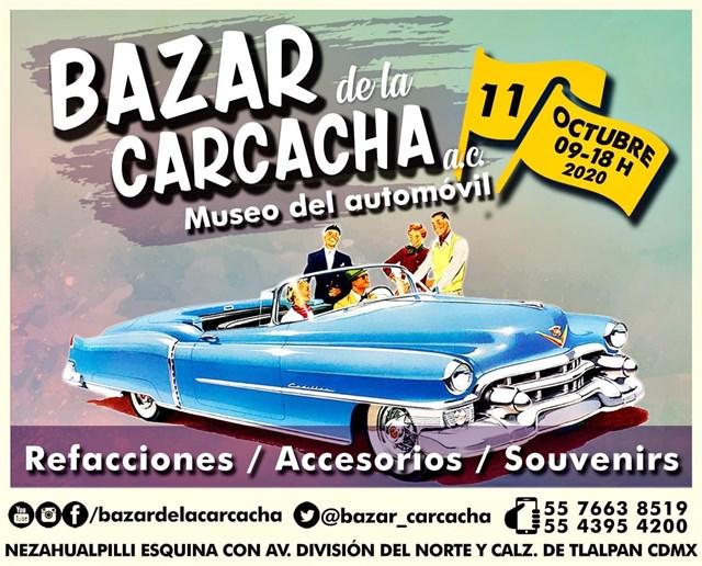 Bazar de la Carcacha - Museo del Automóvil - Septiembre 2020