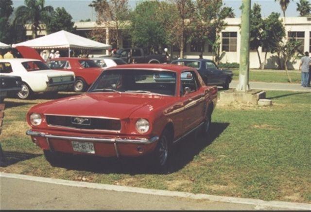 Exhibición Mustang Club Monterrey 2003
