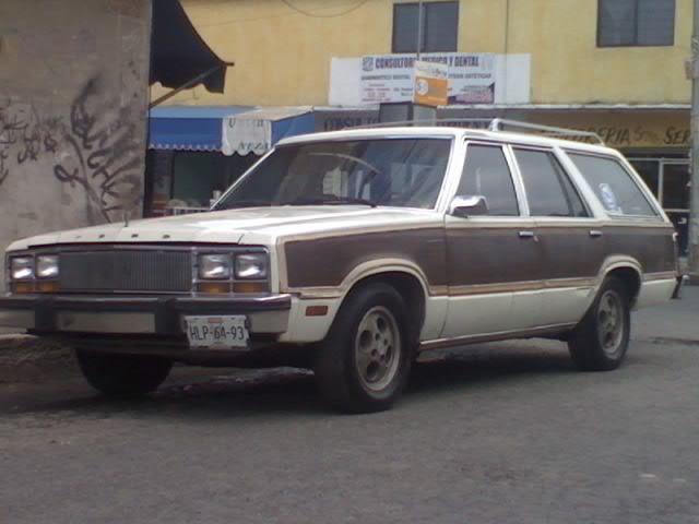 FORD FAIRMONT WAGON 1982