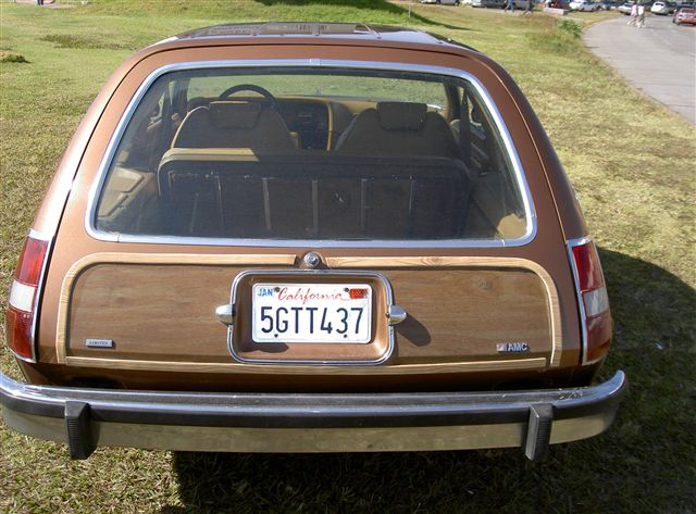 Pacer V8 wagon limited 1979