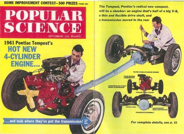 PONTIAC TEMPEST LEMANS 1962