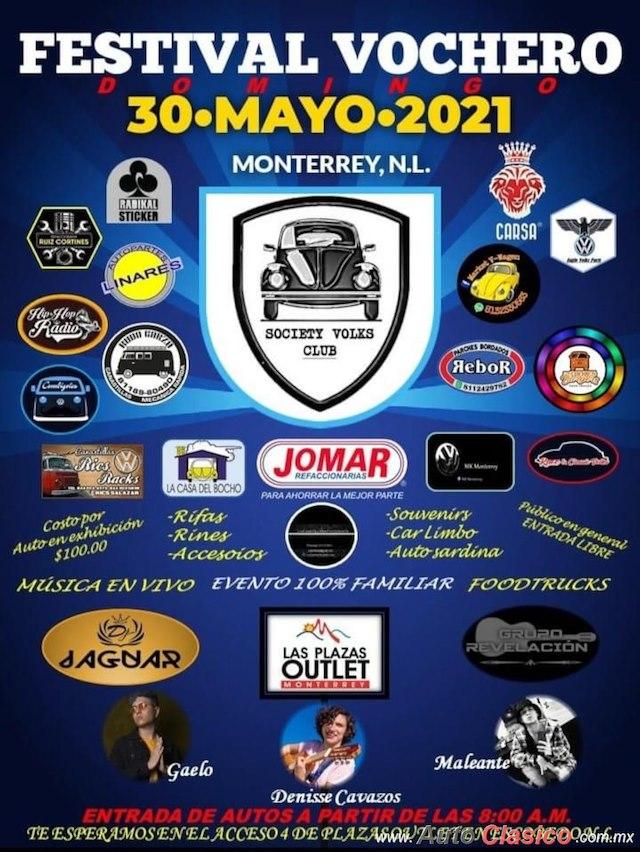 Festival Vochero Monterrey 2021