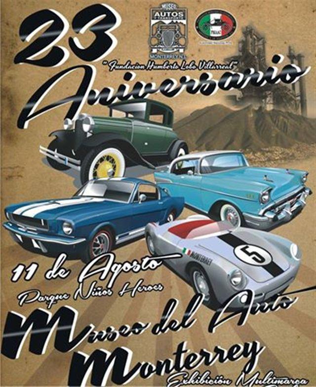 23avo aniversario del Museo de Autos y del Transporte de Monterrey A.C.