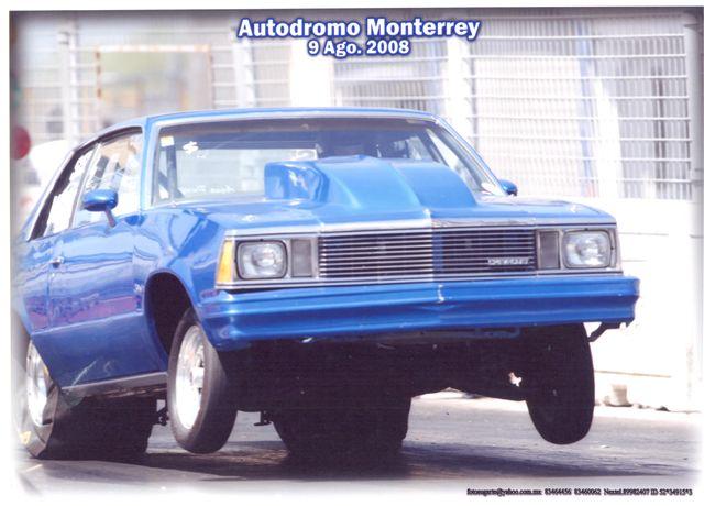 Chevrolet Malibu 1980 Super Street 1/4 milla