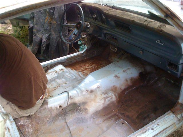 3ra parte restauracion MAV.MERCURY COMET 1976