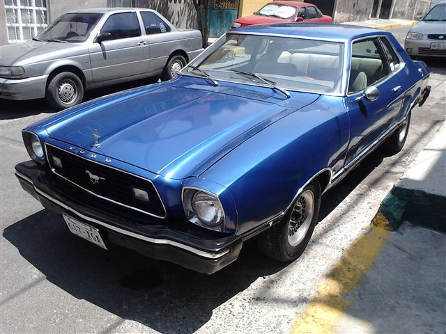 MUSTANG 1976 FORD GUIA