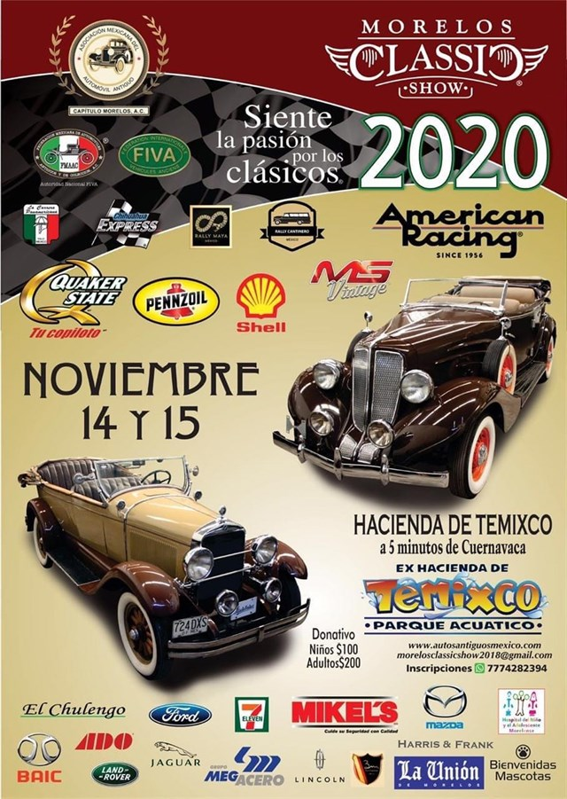 Morelos Classic Show 2020