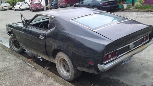 Inicio Restauración, Mustang Mach One 73