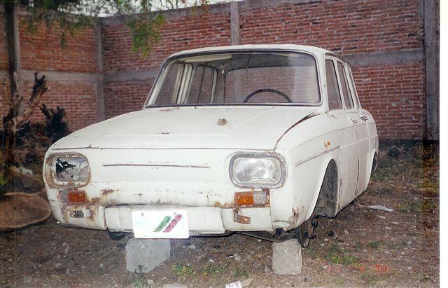 RESTAURACION RENAULT R10 1969