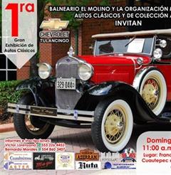 Más información de 1ra Gran Exhibición de Autos Clásicos, Cuautepec