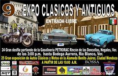 Más información de 9a Expo Clásicos y Antiguos
