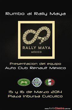 Rumbo al Rally Maya - Auto Club Renault México