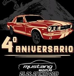 Más información de 4to Aniversario Mustang Mazatlan