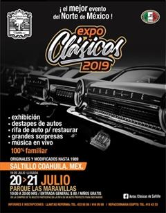 Expo Clásicos Saltillo 2019