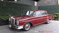 Día Nacional del Auto Antiguo Monterrey 2020 - Mercedes Benz 220S 1963