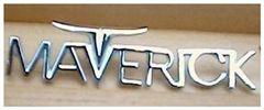 Ford Maverick Emblemas Leyenda maverick