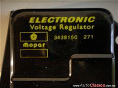 MOPAR DODGE PLYMOUTH REGULADOR ELECTRONICO DE VOLTAJE NUEVO 1970 A 1989