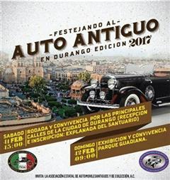 Festejando al Auto Antiguo en Durango Edición 2017