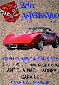 Más información de Expo Classic & Car Show. 2do Aniversario