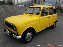 Día Nacional del Auto Antiguo Monterrey 2020 - Renault 4L 1976