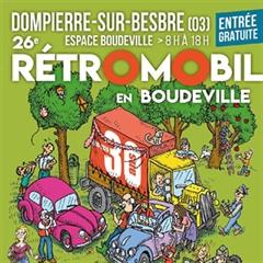 Más información de 26e Édition Rétro Mobile Club Dompierrois