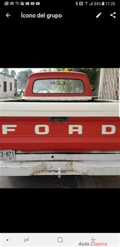 Día Nacional del Auto Antiguo Monterrey 2020 - Ford 1965 1965