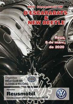 24a Edición de la Concentración VW d'Escarabats i New Beetle