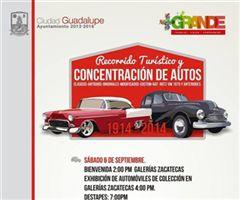Más información de Recorrido Turístico y Concentración de Autos