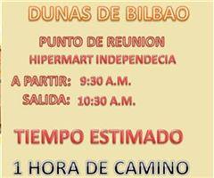 Más información de Dunas de Bilbao