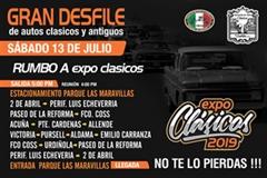 Gran Desfile Rumbo a Expo Clásicos 2019